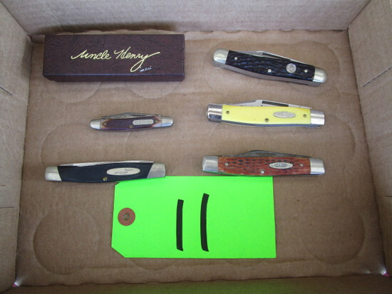 Lot of USA Pocket Knives