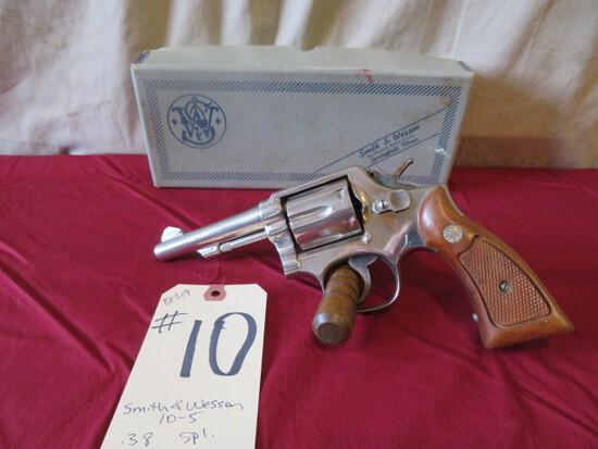 Smith & Wesson 10-5 .38 Spl.