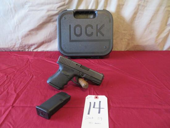 Glock 29 10mm pistol