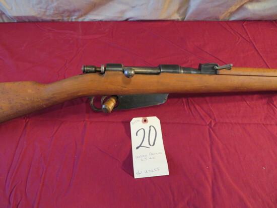 Italian Carcano 6.5mm rifle
