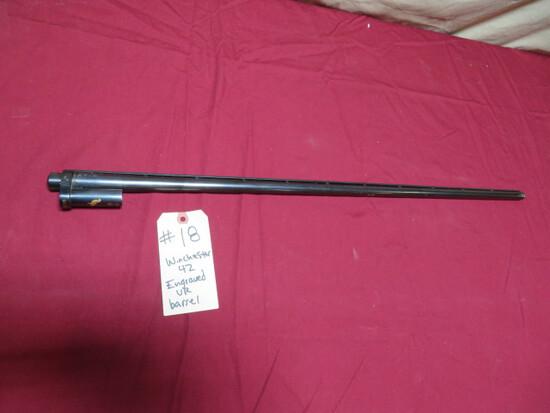 Winchester 42 Pigeon Grade Barrel
