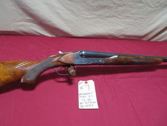 Winchester 21 12 ga. SxS