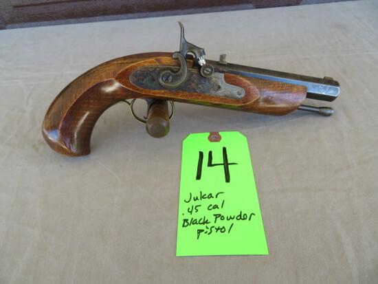 Jukar .45 percussion pistol