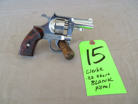 Clerke .22 Blank Pistol