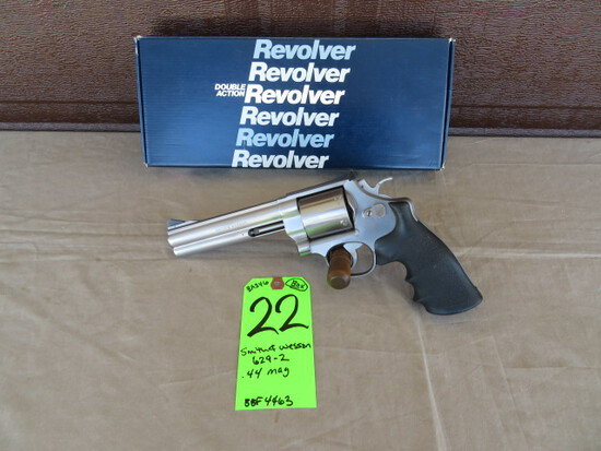 Smith & Wesson 629-2 .44 mag