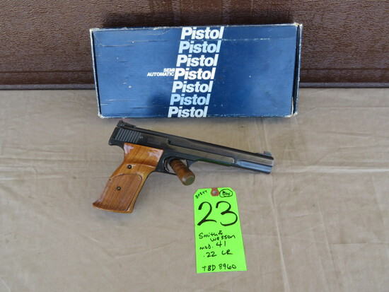 Smith & Wesson 41 .22 LR