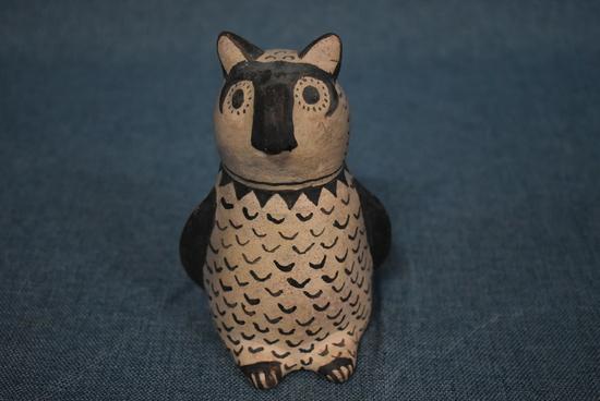 SIGNED COCHITI OWL!