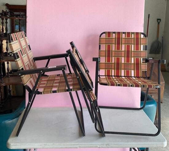Lawn Chairs - Quantity 3