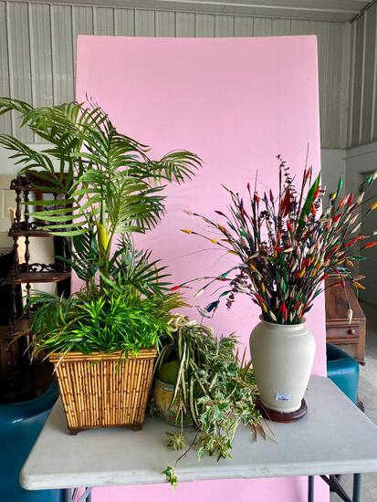Lot of Artificial Greenery