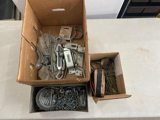 Door supplies, screws and nails