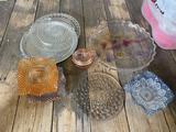 Glassware - plates, dishes
