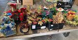 Artificial flowers, Wreaths and arrangements
