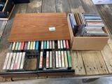 CD?s/cassette tapes