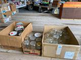 Canning Jars - quarts, pints, large jars