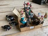 Misc. ceramic/household collectibles