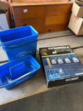 Cleaning buckets/citronella lights