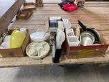 Dehydrator, vegetable server, Tupperware, steamer, miscellaneous