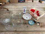 Glassware and miscellaneous