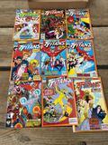 Comic books - team titans