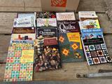 sewing, craft books