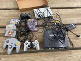 Nintendo 64 W/ games/PS2