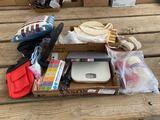 Pill container, gait belt, knitting yarn, misc. housewares