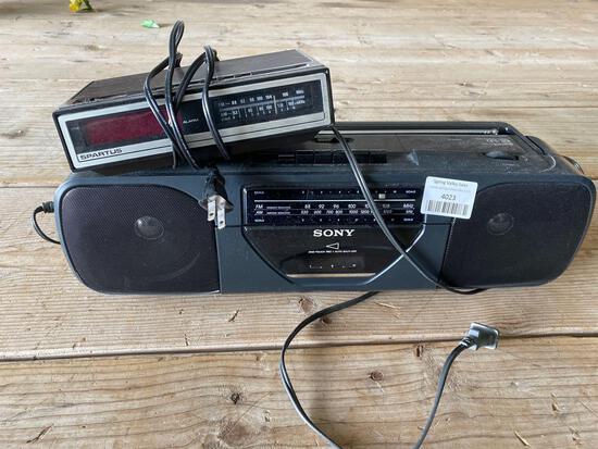 Radio, alarm clock