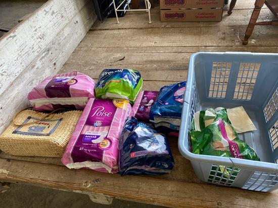 Bag, adult diapers/pads