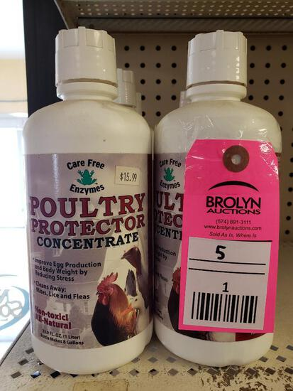 Qty 5 - Poultry Protector. New as pictured.