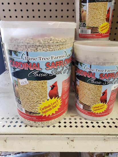 Qty 7 - Assorted bird feed. New.
