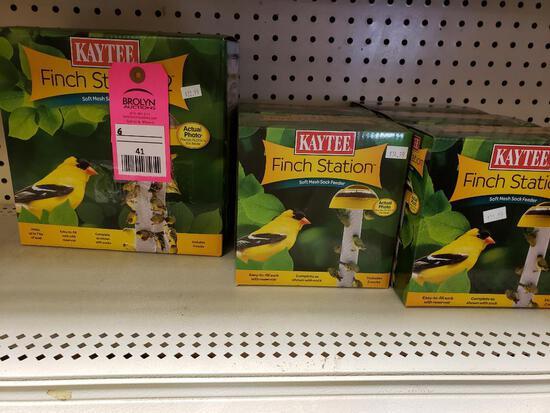 Qty 6 - Finch bird feeders. New.