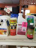 Large qty of assorted lawn and garden products as pictured. New.