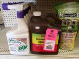 Qty 7- Assorted lawn and garden treatment products. New as pictured.