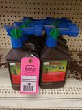 Qty 8- Assorted lawn and garden treatment products. New as pictured.