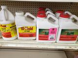 Qty 7 - Assorted lawn and garden treatment products. New as pictured.