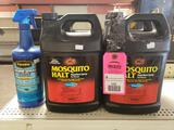 Qty 5 - Assorted mosquito spray. New stock as pictured.