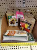 Qty 8 - Assorted squirrel feed. New.