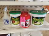 Qty 5 - Assorted horse care products. New.