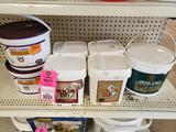 Qty 7 - Assorted horse products. New.