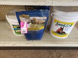 Qty 4 - Assorted horse products. New.