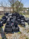 Large qty of plastic bins.