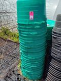 Large qty, one stack of planter tubs.