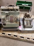 Qty 2 - Antique cash registers.