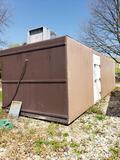 Polar King dual section portable back up walk in cooler. Model HM1030. Fully functional.