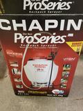 Chapin Pro Series backpack sprayer. New in box.