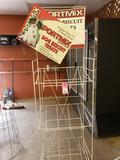 Portmix display rack.