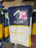 Qty 7 - Bags chicken feed. New.