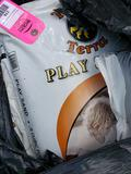 Pallet of play sand. New in bags.