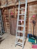 16' aluminum extension ladder.