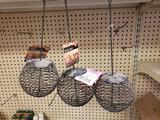 Qty 3 - Birdie Ball bird feeders. New old stock.